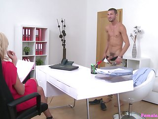 Hardcore fucking by means of casting motivation Cristal Caitlin and a handsome man