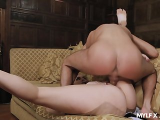 MILF with insane curves, first-class nude porn with dramatize expunge master