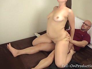 Stepmom helping daughter