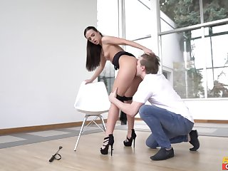 Marvelous female domination XXX home porn approximately the spliced