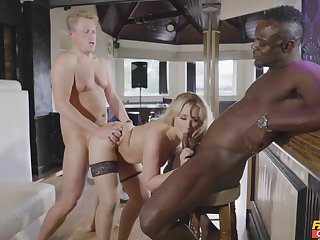 Nefarious dude suits this wife with cock when sharing her with her hubby