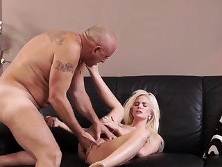 Old piss first time Sizzling blond wants to try someone lil'