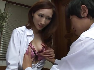 PPPD-340 My Girlfriend's Senior Sister Tempted Me With The brush Big Tits And The brush Willingness To Take My