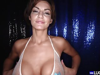 Becky Bandini Beautiful Full-Breasted Cougar Dick fucking