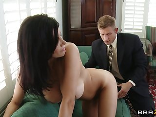 Seasoned snatch Shay Sights fucked overwrought her younger lover and loves evenly