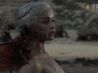 Truly naked Mother of Dragons from amusement Be advantageous to Thrones