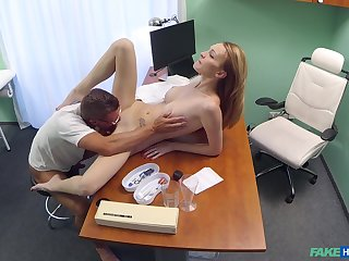 Bell Claire receives a few surprises within reach her physician's office