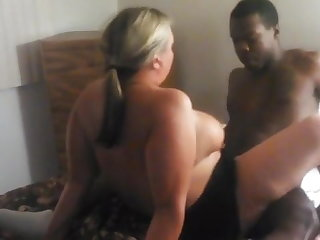 PAWG wife cheating with BBC