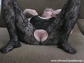 Hot amateur swinger Wicked Sexy Melanie doing say no to thing here with finished style