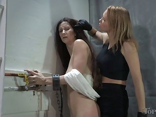 Amateur torture session with mature Paintoy Emma increased by Spill DeGrey