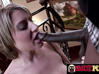 Cock hungry sluts inviting chubby black dicks in mouth and perform amazing blowjobs